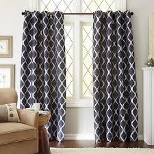 Moorish Tile Curtains Moorish Tile Indigo Grommet Curtain Pier 1 Imports