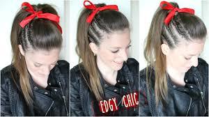 cheer hair tutorial braidsandstyles12 youtube