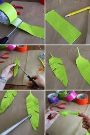 feather earrings for kids duct feathers tutorial showing how to make them into