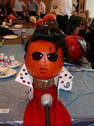 elvis pumpkin decoration
