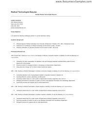 resume medical technologist microbiology medical technologist sample resume medical technologist resume