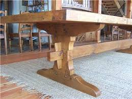 what is a trestle table building a trestle table trestle tables rustic trestle table
