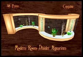 Aquarium Room Divider Second Life Marketplace Modern Room Divider Aquarium