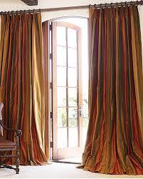 Silk Plaid Drapes Dupioni Silk Drapes Striped Dupioni Silk Fabric Drapery Fabric
