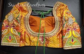 wedding blouses sri aari creatives aari work wedding blouses by sri aari creatives