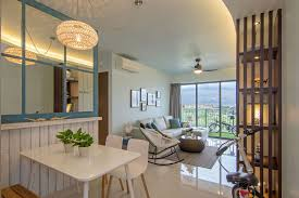 beach house urban apartment in singapore by vievva designers