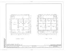 Massey Hall Floor Plan by The Collins C Diboll Vieux Carré Survey Property Info