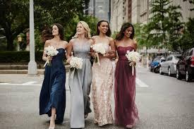 prettyperfect fall bridesmaid dresses by oleg cassini bridalpulse