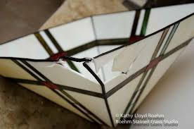 boehm stained glass blog frank lloyd wright style lamp repair