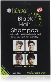 How Long To Wash Hair After Color - amazon com instant hair dye black hair shampoo 3 black