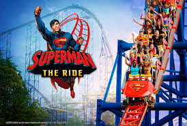Theme Park Six Flags Superman The Ride Is Returning To Six Flags New England
