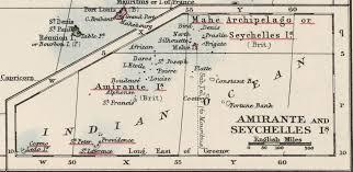 Seychelles Map Seychelles Colony