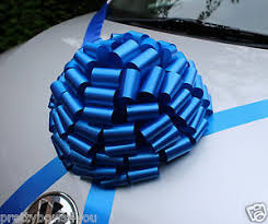 new car gift bow new car bow large wedding birthday present baby boy gift bow