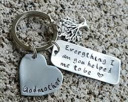 godmother keychain everything i am you etsy