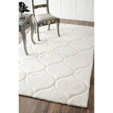 white shag rug perfect mohawk home juliet metallic foot inch x