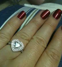 heart shaped rings images Heart shaped diamonds anyone weddingbee jpg