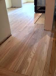 Installing Laminate Flooring Over Linoleum How To Install Hardwood Floors My Fifties Kitchen Redo