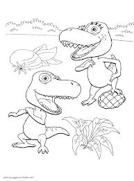 dinosaur train coloring pages coloringsuite com
