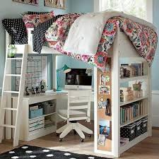 Diy Loft Bed With Desk Beds With Desks Underneath Size Loft Bed Desk Plans Diy