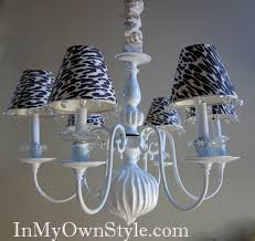 Small Shades For Chandeliers Diy Chandelier Shades U0026 Covers In My Own Style