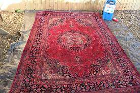 how to clean rugs cleaning vintage rugs with a rental carpet cleaner