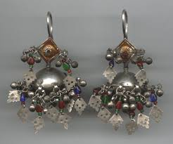 gujarati earrings organic jewelry ethnic and tribal jewelry india