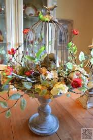 bird cage decoration 37 best fall birdcage decor images on birdcage decor