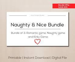 printable kinky game gift for boyfriend sexy gift sex naughty bundle sex ideas sale item bundle gift boyfriend kinky