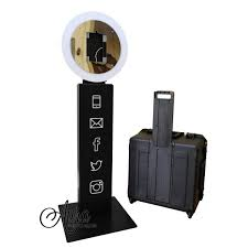 photo booth for sale mobibooth aura 9 photo booth kiosk for sale gif booth ring light