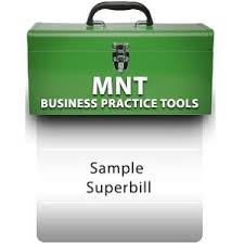 Superbill Template by Bill For Mnt Services