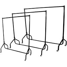 vivo 4ft heavy duty garment clothes dress hanging rail rack