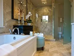 Master Bathrooms Ideas by Narrow Master Bathroom Master Bathroom Shower Tub Interior Design