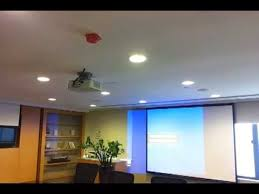 Retractable Projector Ceiling Mount by Movable Projection Ceiling Bracket Youtube