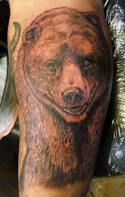 grizzly bear tattoos designs bear tattoo design ideas animals