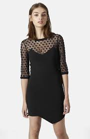 topshop mesh body con dress where to buy u0026 how to wear