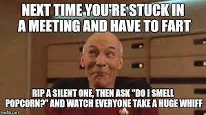 Meme Meeting - picard silly imgflip