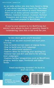 how to use mailchimp for beginners the indie author u0027s guide to