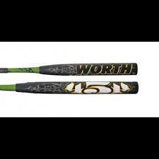 worth mutant worth 2012 sbm454 mutant 454 slowpitch softball bat baseball