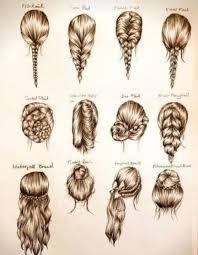 sketches of hair hair image 1772249 by saaabrina on favim com