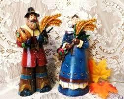 pumpkin figurine etsy
