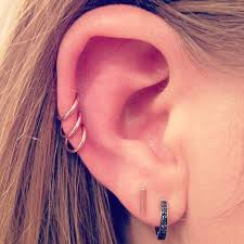 hoop cartilage piercing best 20 cartilage piercing ideas on no signup