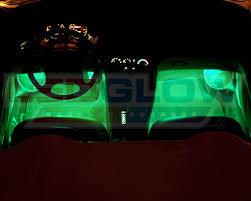 Car Interior Leds Ledglow 2pc Multi Color 7 Color Led Car Underseat Underdash