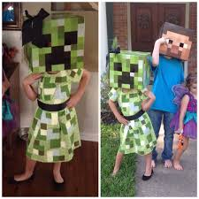 Minecraft Costume Minecraft Creeper Costume Halloween Costume Ideas