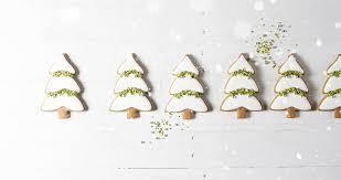 snowy evergreen trees gingerbread cookies u0026 royal icing