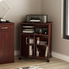 South Shore Axess Bookcase South Shore Axess Collection Printer Stand Royal Cherry 7246691