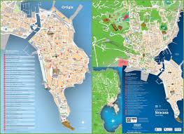 Syracuse Map Syracuse Tourist Map