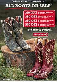 Coupon Codes For Boot Barn Bootbarn Com This Weekend Only U2013 All Boots On Sale Milled