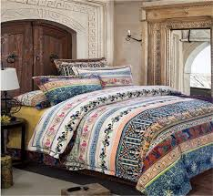 Bohemian Style Comforters Bohemian Bedding And Boho Bedding Sets Beachfront Decor