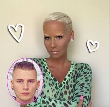 amber rose dishes on her relationship with machine gun kelly