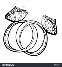 wedding rings how to sketch a ring how to draw a diamond ring
